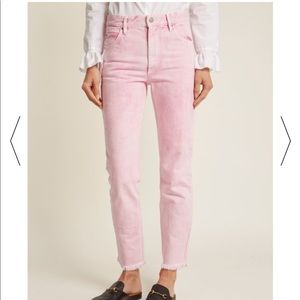 Isabel Marant Flovera Jean in Light Pink NWT